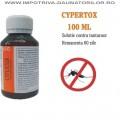 Cypertox 100 ml - Insecticid profesional impotriva gandacilor, puricilor, mustelor, tantarilor, furnicilor